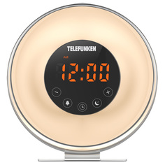 Радио-часы Telefunken TF-1596 White