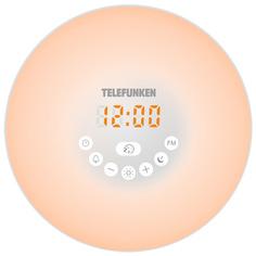 Радио-часы Telefunken TF-1589B White