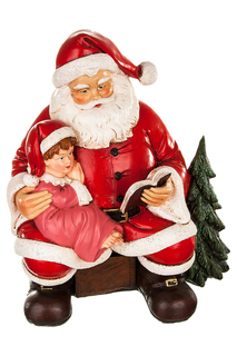 Скульптура Дед мороз и книжка SIMPLE ART