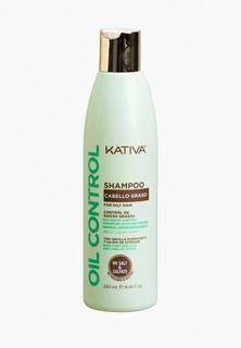 """Шампунь Kativa OIL CONTROL Шампунь """"Контроль"""" для жирных волос 250мл Kativa"""