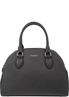 Кожаная сумка с отделениями по бокам Fiato