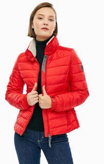 Красная куртка с утепленным воротником-стойкой Marc Opolo