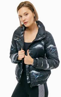Короткая куртка с высоким воротом Dkny