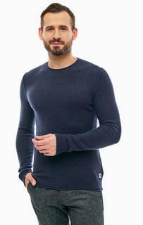 Синий шерстяной джемпер Marc Opolo