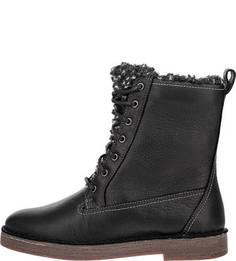 Утепленные ботинки из натуральной кожи Riona Evie Clarks