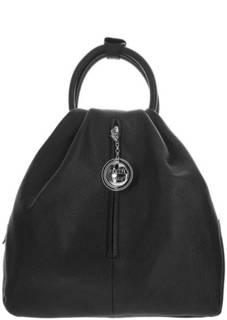 Кожаная сумка-рюкзак с брелоком Fiato