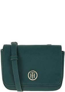 Маленькая зеленая сумка через плечо Tommy Hilfiger