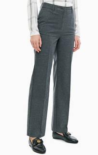 Серые брюки прямого кроя TOM Tailor