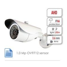 Камера видеонаблюдения GINZZU HAB-1031O, 3.6 мм, белый