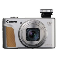 Цифровой фотоаппарат CANON PowerShot SX740HS, серебристый