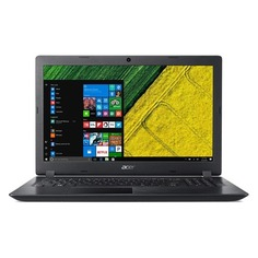"Ноутбук ACER Aspire A315-53-332L, 15.6"", Intel Core i3 7020U 2.3ГГц, 4Гб, 128Гб SSD, Intel HD Graphics 620, Windows 10, NX.H2BER.004, черный"