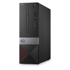 Компьютер DELL Vostro 3470, Intel Core i5 8400, DDR4 4Гб, 1000Гб, Intel UHD Graphics 630, DVD-RW, CR, Windows 10 Home, черный [3470-0922]