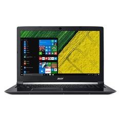 "Ноутбук ACER Aspire A715-72G-77C6, 15.6"", Intel Core i7 8750H 2.2ГГц, 8Гб, 1000Гб, nVidia GeForce GTX 1050 Ti - 4096 Мб, Windows 10, NH.GXCER.005, черный"