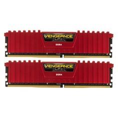 Модуль памяти CORSAIR Vengeance LPX CMK32GX4M2A2666C16R DDR4 - 2x 16Гб 2666, DIMM, Ret