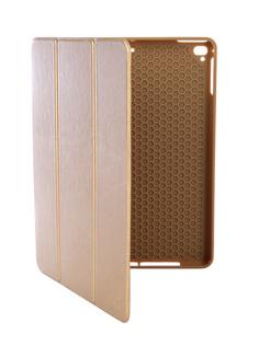 Аксессуар Чехол Gurdini для APPLE iPad Air/Air2/Pro9.7/NEW 9.7 2017-2018 Leather with Apple Pencil Gold 907391