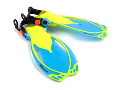 Ласты Mad Wave Turbulence Junior Размер 32-37 Turquoise M0649 04 6 00W