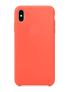 Аксессуар Чехол APPLE iPhone XS Max Silicone Case Nectarine MTFF2ZM/A