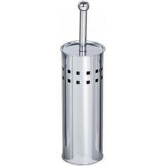 Туалетный напольный ершик g-teq металл хром, с перфорацией 20.45