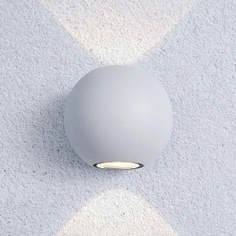 Садово-парковый светильник elektrostandard со светодиодами diver белый a038537
