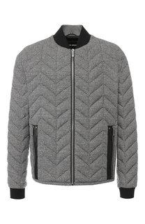 Пуховая куртка на молнии Giorgio Armani