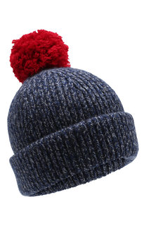 Шерстяная шапка со сменными помпонами Acne Studios