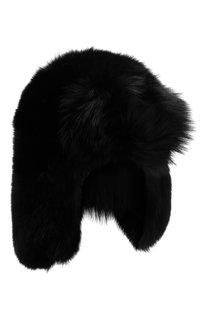 Меховая шапка-ушанка Saint Laurent