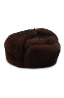 Норковая шапка-ушанка FurLand
