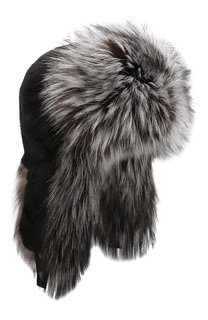 Норковая шапка-ушанка Kussenkovv