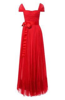 Платья в пол Dolce & Gabbana