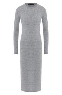 Вязаное платье-миди из шерсти Alexander Terekhov