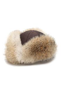 Меховая шапка-ушанка Стильная FurLand