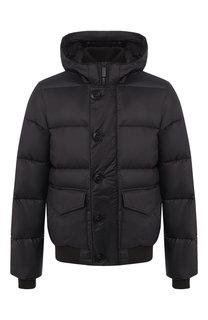 Пуховая куртка Ventoux на молнии с капюшоном Canada Goose