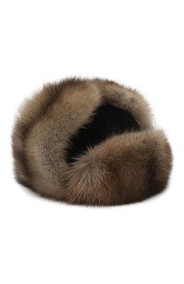 Меховая шапка-ушанка Селин FurLand
