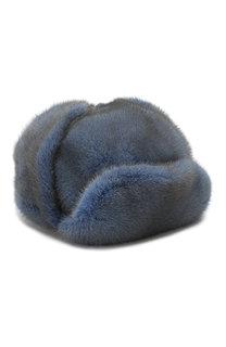 Норковая шапка-ушанка Френки FurLand