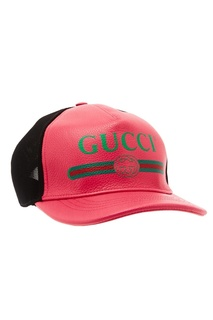 Контрастная бейсболка Gucci