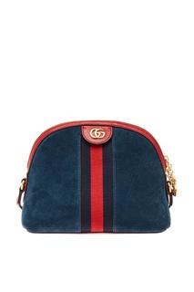 Комбинированная сумка Ophidia Small Gucci