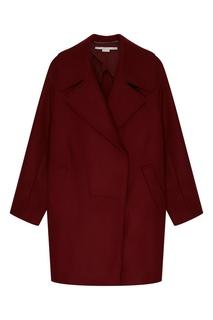 Бордовое пальто Stella Mc Cartney