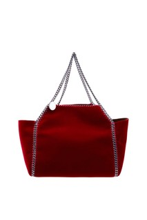Красная сумка с серебристой отделкой Stella Mc Cartney