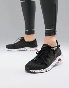 Черные трикотажные кроссовки Asics Running hypergel sai - Черный