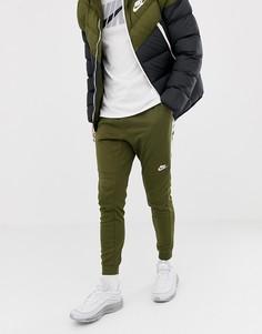 Зеленые джоггеры Nike Tribute 884898-395 - Зеленый