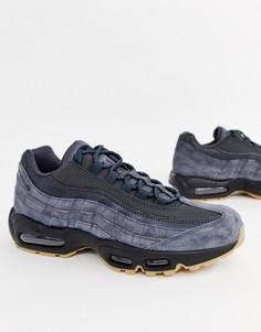 Серые кроссовки Nike Air Max 95 Ultra AJ2018-002 - Серый