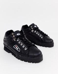 Черные кроссовки Fila - Черный