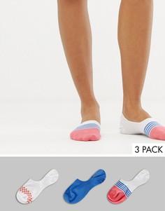 3 пары спортивных невидимых носков ASOS DESIGN - Мульти