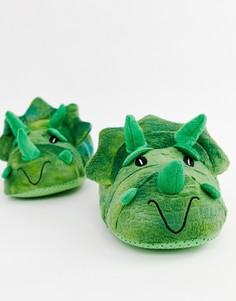 Зеленые слиперы Burton Menswear - Зеленый