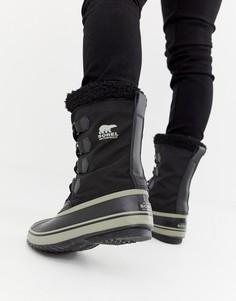 Черные зимние сапоги SOREL Pac - Черный