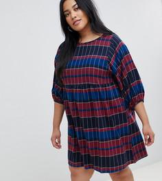 Cвободное платье в стиле бохо Junarose - Мульти