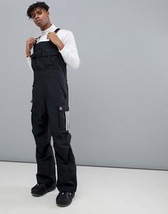 Черный горнолыжный комбинезон adidas Snowboarding Flanders - Черный