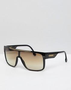 Черные солнцезащитные очки Carrera - Черный