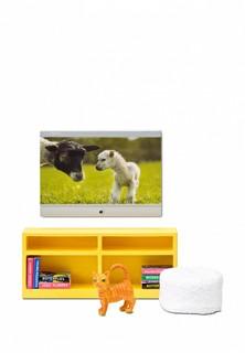 Набор игровой Lundby мебель для домика Смоланд Домашний кинотеатр