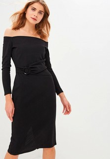 Платье LOST INK RING DETAIL BARDOT MIDI BODYCON